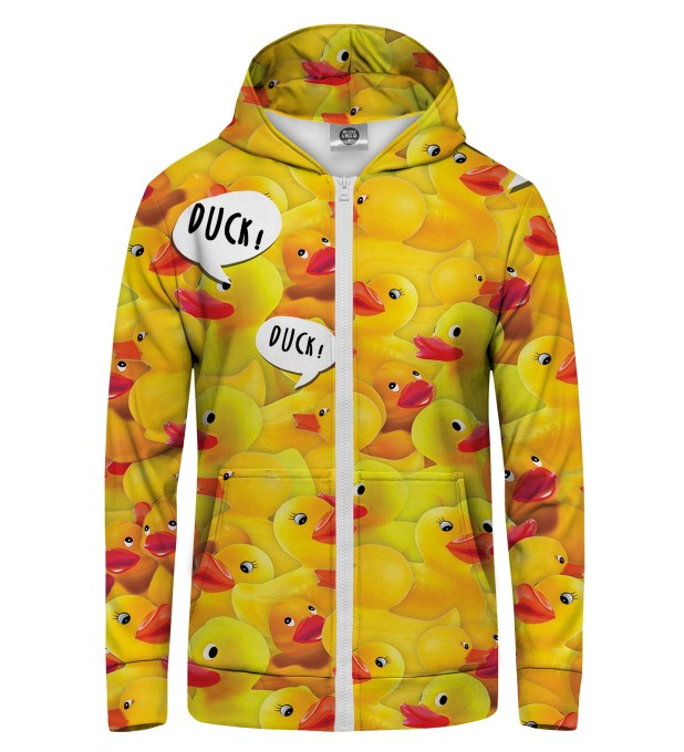 ducks Zip Up Hoodie Thumbnail 1