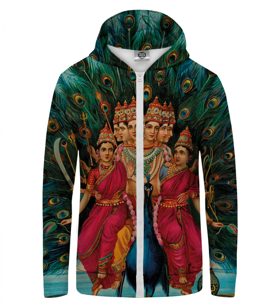 Mr. Gugu & Miss Go, SHIVA1 Zip Up Hoodie Image $i