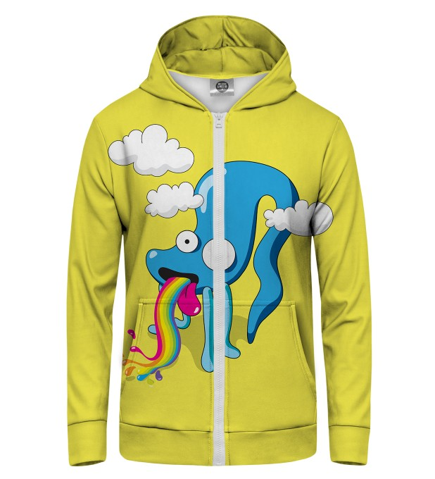 Rainbow Monster Zip Up Hoodie Thumbnail 1