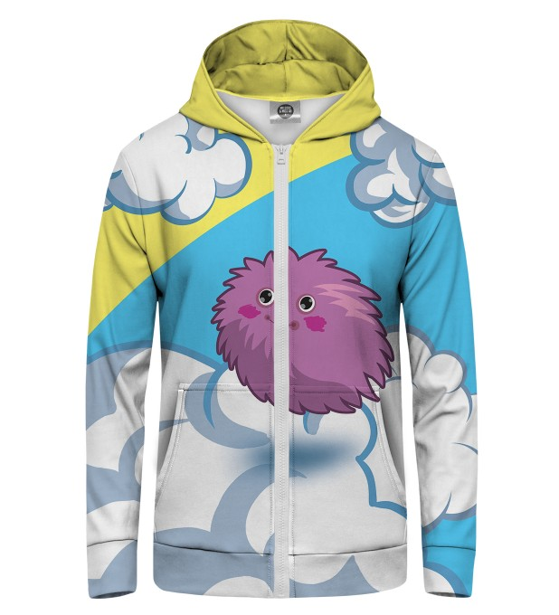 ball of fur Zip Up Hoodie Thumbnail 1