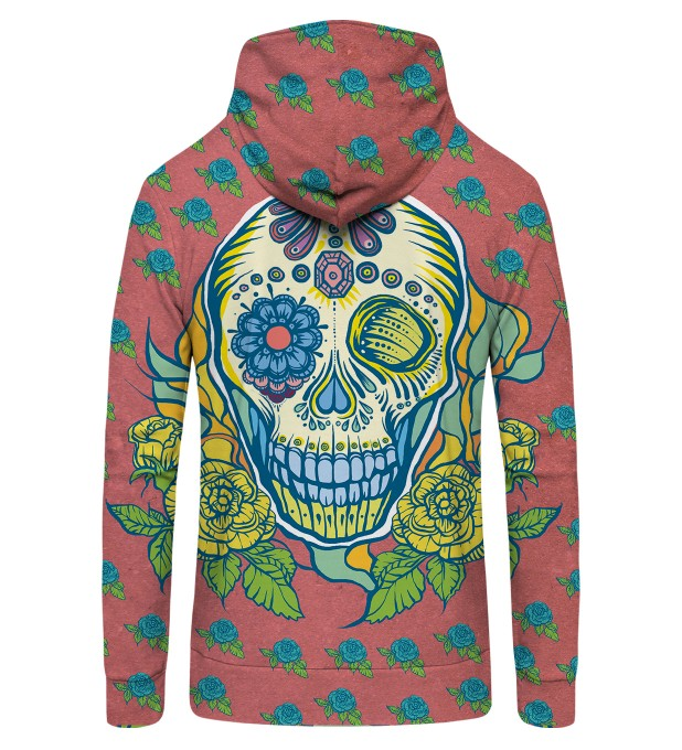sugarskull Zip Up Hoodie Thumbnail 2