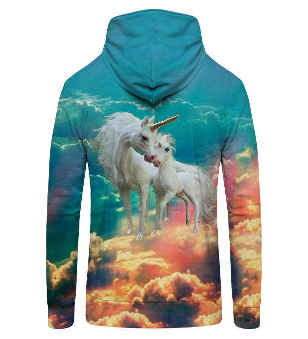 unicorn family Zip Up Hoodie Thumbnail 2
