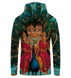 Mr. Gugu & Miss Go, SHIVA1 Zip Up Hoodie Thumbnail $i