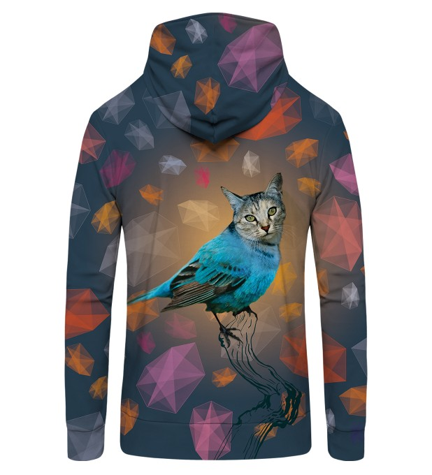 CAT BIRD Zip Up Hoodie Thumbnail 2
