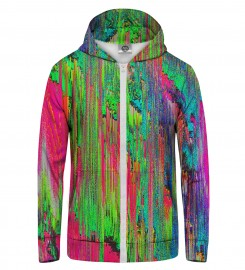 Mr. Gugu & Miss Go, Drying Paint Zip Up Hoodie Miniatura $i