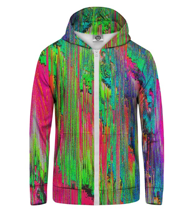 Drying Paint Zip Up Hoodie аватар 1