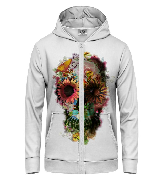 Flower Garden Zip Up Hoodie Thumbnail 1