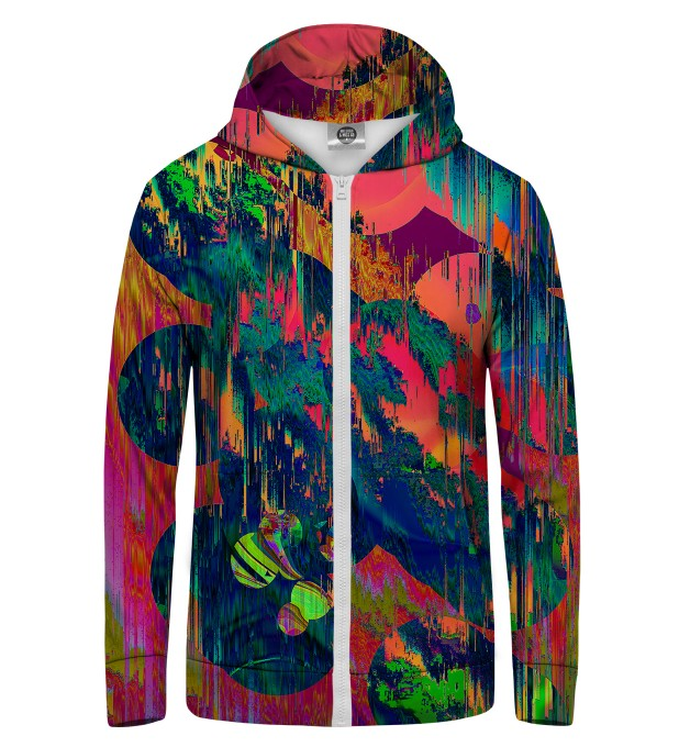 Wet Paint Zip Up Hoodie Thumbnail 1