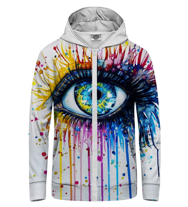 Fullprint Zip Up Hoodie Miniature 1