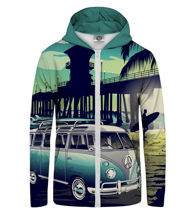 California Life Zip Up Hoodie Thumbnail 1