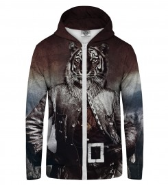 Mr. Gugu & Miss Go, Colonel Tiger Zip Up Hoodie Thumbnail $i