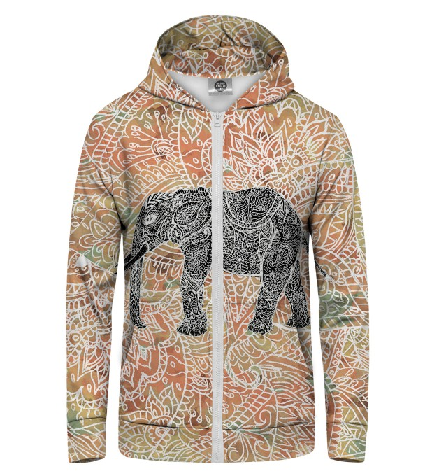 Indian Elephant Zip Up Hoodie аватар 1