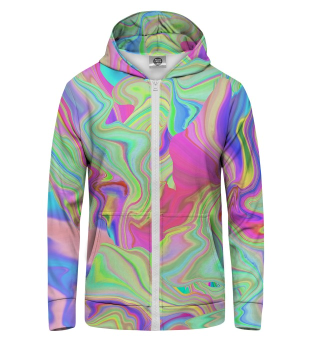 Randomly Blurred Zip Up Hoodie Thumbnail 1