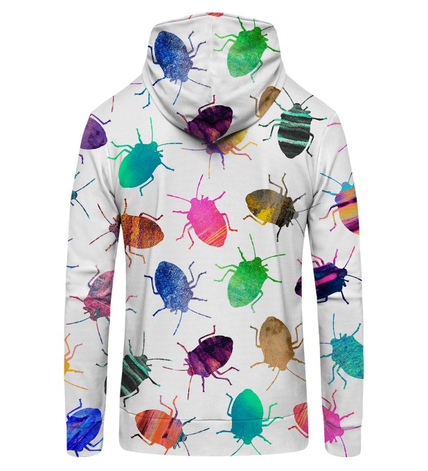 Colorful Cockroaches Zip Up Hoodie Thumbnail 2