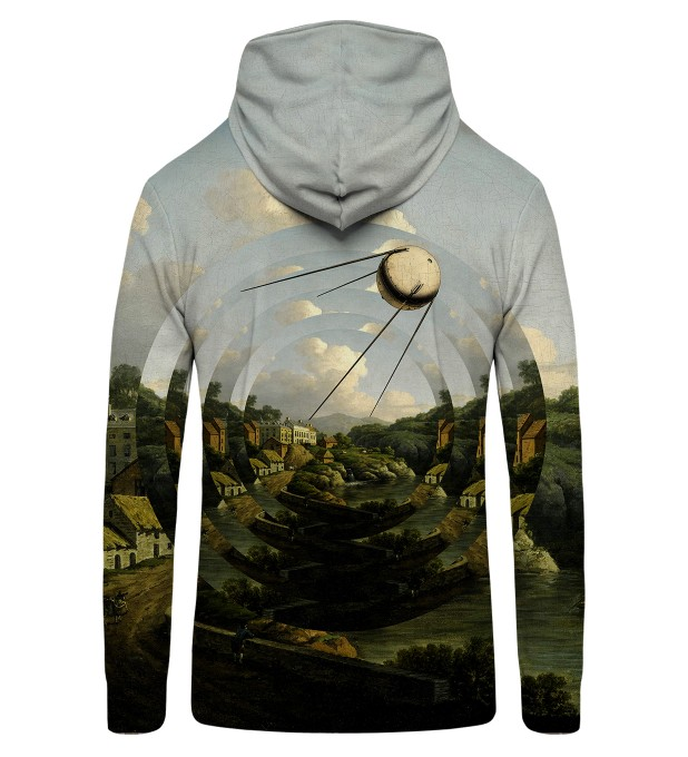 Sputnik City Zip Up Hoodie Thumbnail 2