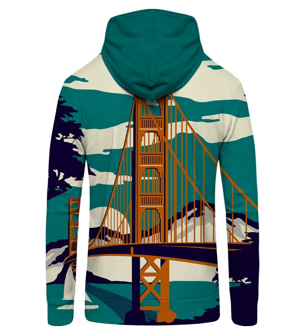 Golden Bridge Zip Up Hoodie Thumbnail 2