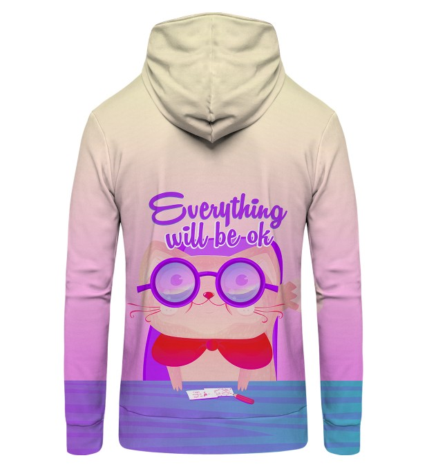 Everything Will Be OK Zip Up Hoodie Thumbnail 2