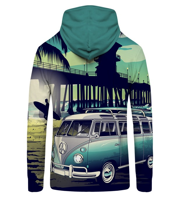 California Life Zip Up Hoodie Thumbnail 2