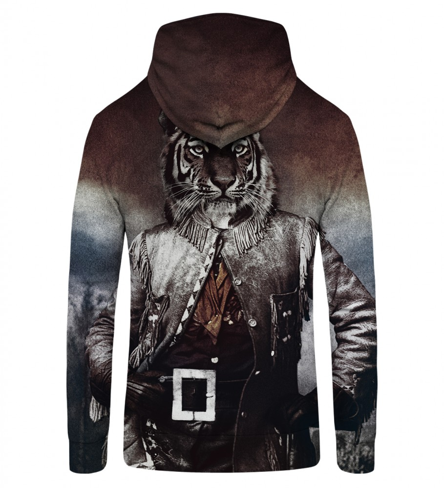 Mr. Gugu & Miss Go, Colonel Tiger Zip Up Hoodie Image $i