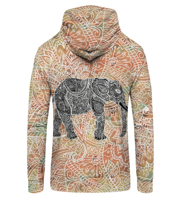 Indian Elephant Zip Up Hoodie аватар 2