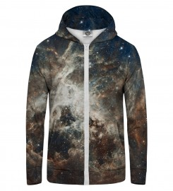 Mr. Gugu & Miss Go, Golden Blue Galaxy Zip Up Hoodie Miniatura $i