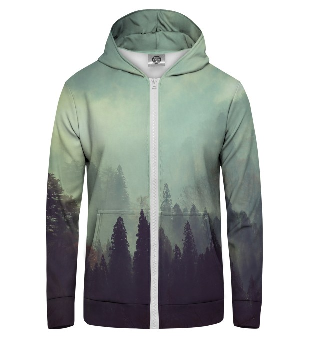 Old Forest Zip Up Hoodie Thumbnail 1