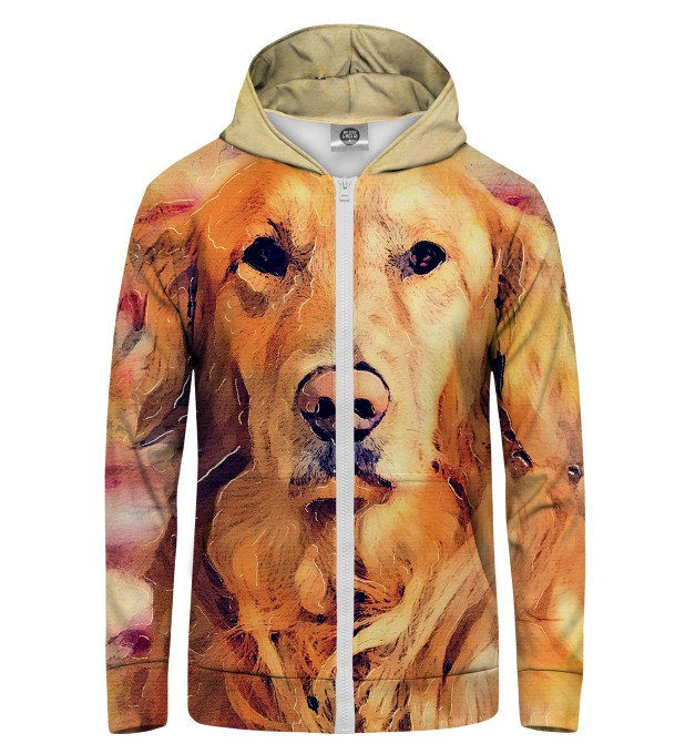 Dog's Poster Zip Up Hoodie Thumbnail 1
