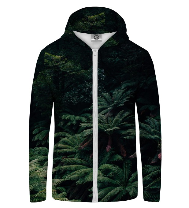Jungle Zip Up Hoodie Miniature 1