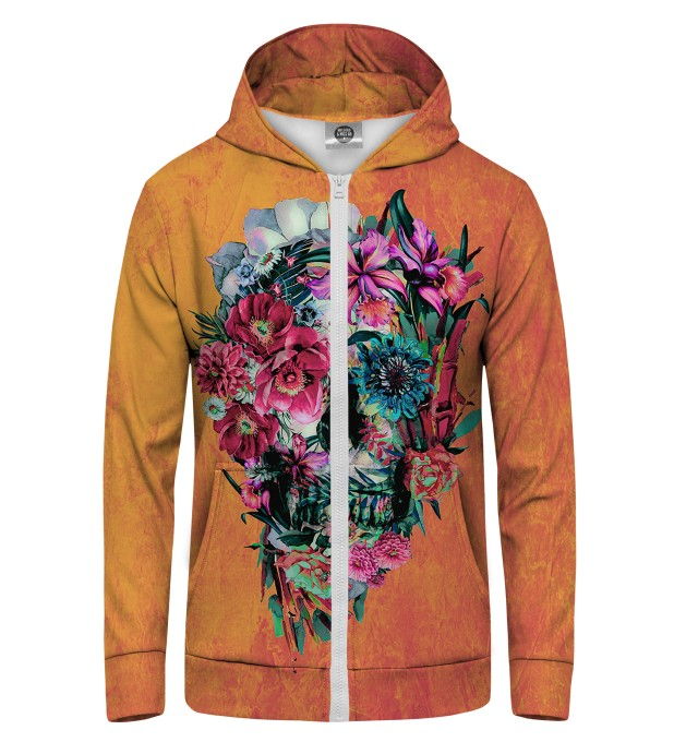 Flowerity Zip Up Hoodie Miniature 1
