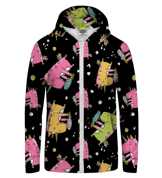 Dinocorns Zip Up Hoodie Miniature 1