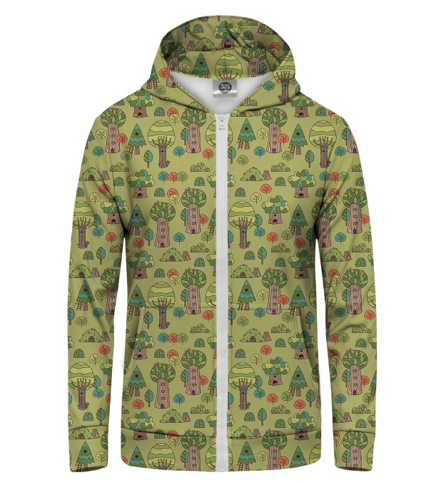 Hundre Acre Wood Zip Up Hoodie Thumbnail 1