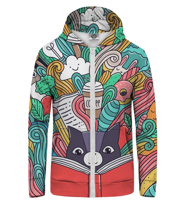 Imagination Zip Up Hoodie Thumbnail 1