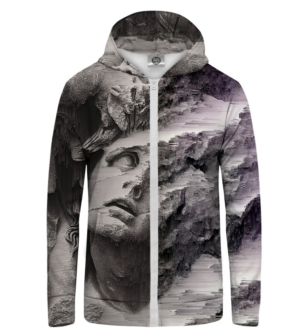 Burst of Art Zip Up Hoodie Miniature 1