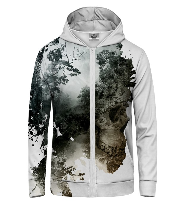 Dead Nature Zip Up Hoodie Thumbnail 1