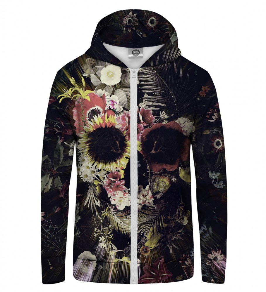 Mr. Gugu & Miss Go, Memento Mori Zip Up Hoodie Image $i
