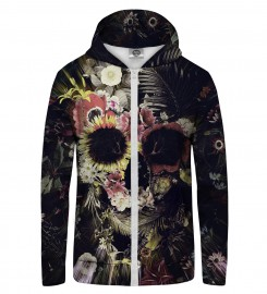 Mr. Gugu & Miss Go, Memento Mori Zip Up Hoodie Miniatura $i