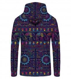 Mr. Gugu & Miss Go, Elephants Zip Up Hoodie Miniature $i
