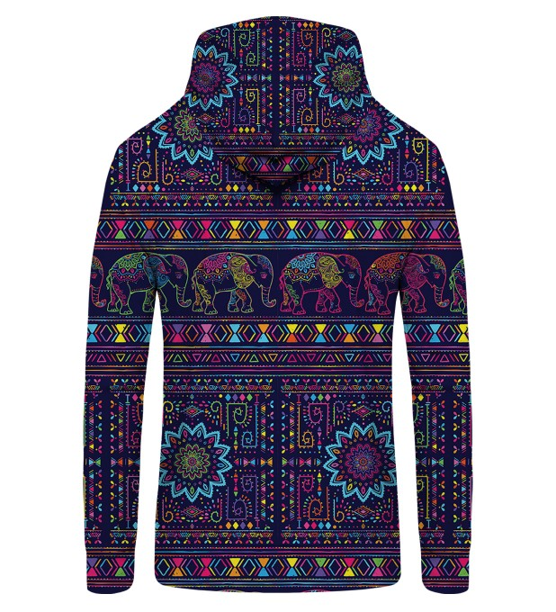 Elephants Zip Up Hoodie Miniatura 2