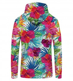 Mr. Gugu & Miss Go, Jungle Flowers Zip Up Hoodie Thumbnail $i