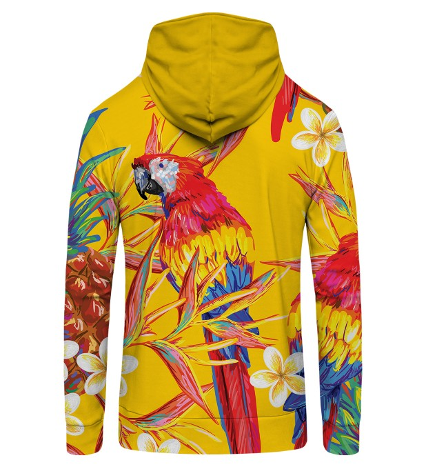 Paradise parrots  Zip Up Hoodie Miniature 2