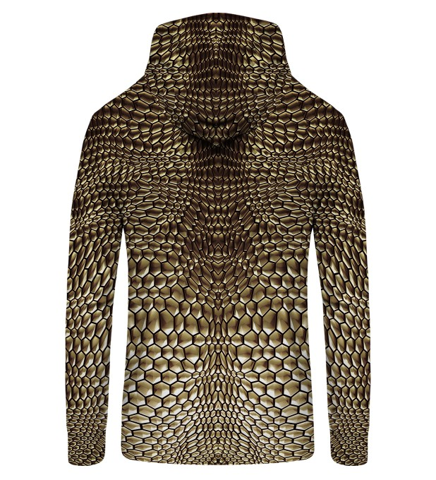 Golden armor Zip Up Hoodie Thumbnail 2