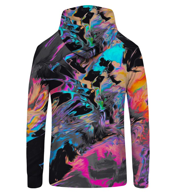 Space colours Zip Up Hoodie Thumbnail 2