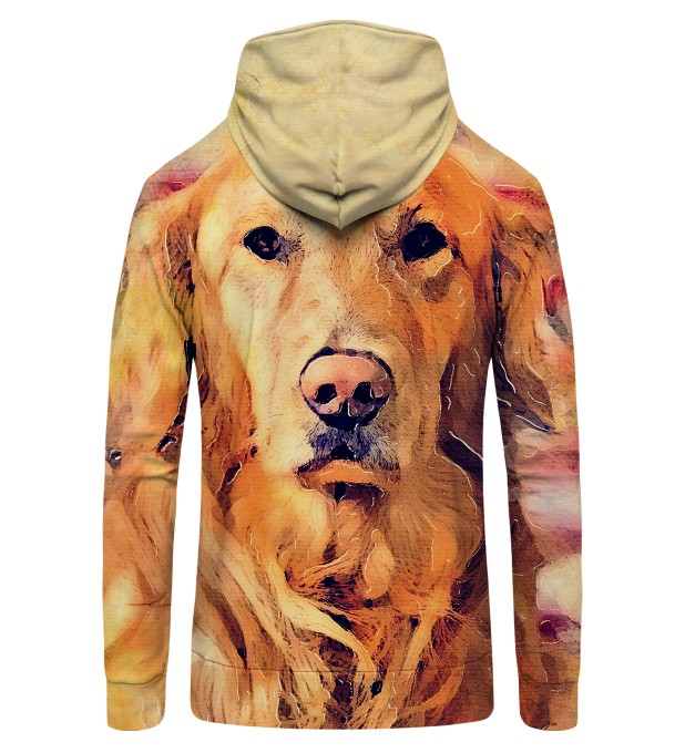 Dog's Poster Zip Up Hoodie Thumbnail 2