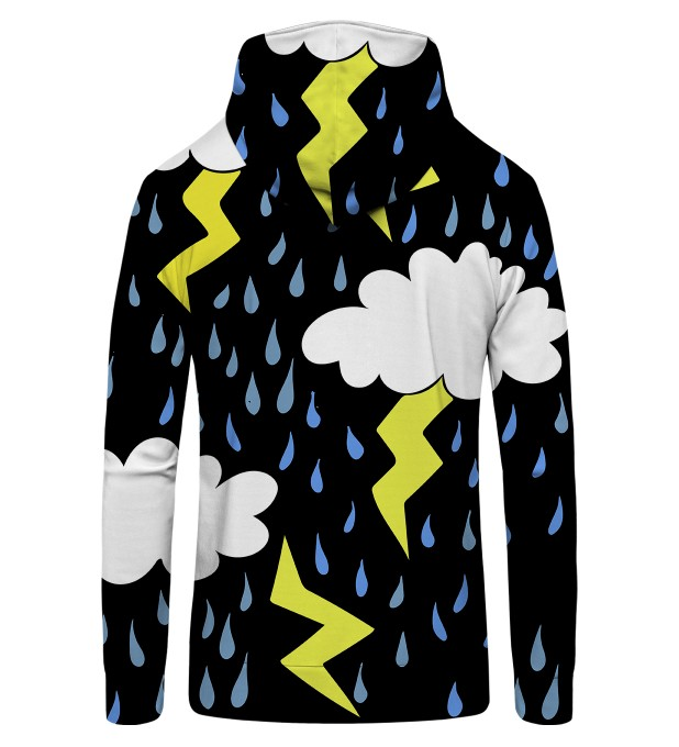 Comic lightning Zip Up Hoodie Miniature 2