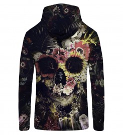 Mr. Gugu & Miss Go, Memento Mori Zip Up Hoodie Thumbnail $i