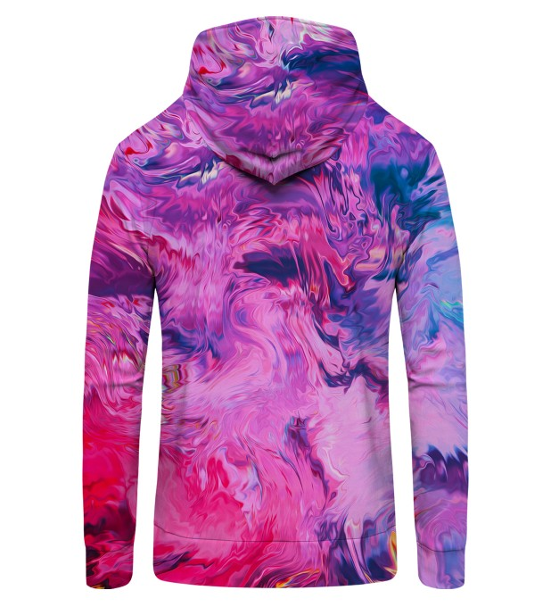 Modern Painting Zip Up Hoodie Miniature 2
