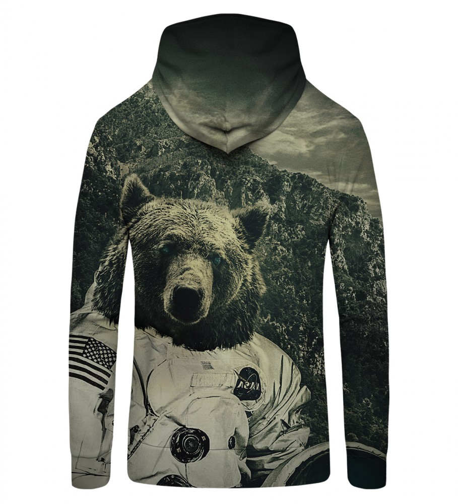 Mr. Gugu & Miss Go, NASA Bear Zip Up Hoodie Image $i