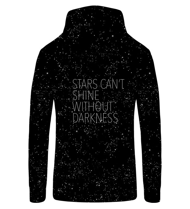 Stars Zip Up Hoodie Miniature 2