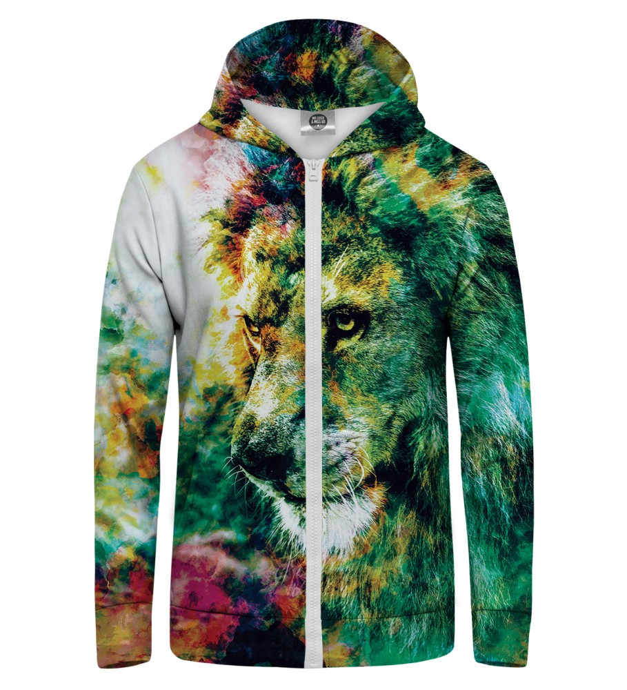 Mr. Gugu & Miss Go, King of Colors Zip Up Hoodie Image $i