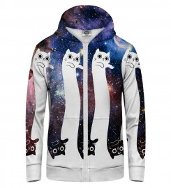 Mr. Gugu & Miss Go, To the infinity... and beyond! Zip Up Hoodie Thumbnail $i